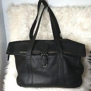 Vintage L.L Bean X-Large Pebbled Leather Handbag